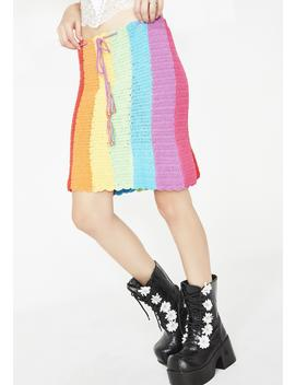 Rainbow Dream Skirt by Fluffy