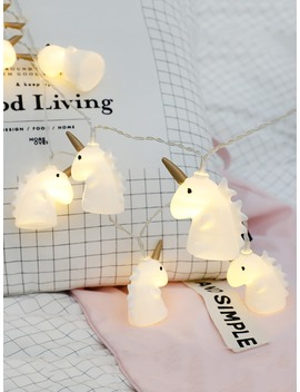 Unicorn Bulb 20pcs String Light by Romwe