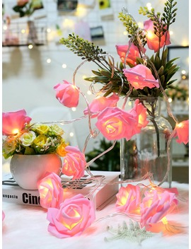 20pcs Rose Bulb String Light 12v by Romwe