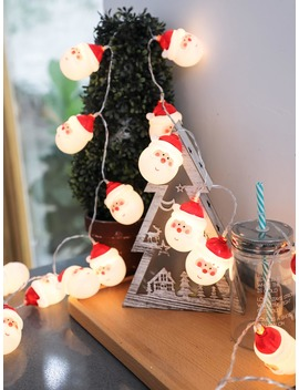 3 M Christmas Santa Claus String Light 12 V by Romwe