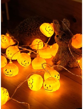 3 M Pumpkin Bulb String Light 12 V by Romwe