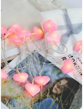Heart Bulb 20pcs String Light by Romwe