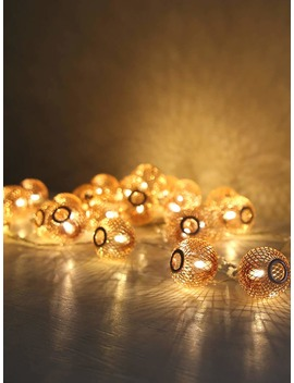 20pcs Lantern Bulb String Light by Romwe