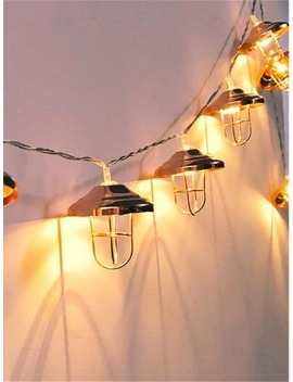 10pcs Lampshade String Light by Romwe