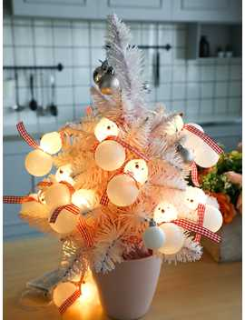 Christmas 3 M Snowman String Light 12 V by Romwe