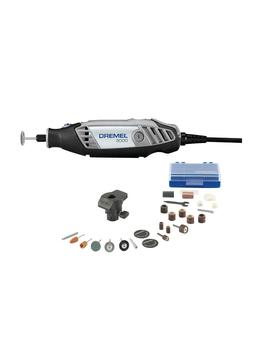 3000 Series 1.2 Amp Variable Speed Corded Rotary Tool Kit With 24 Accessories, 1 Attachment And Carrying Case by Dremel