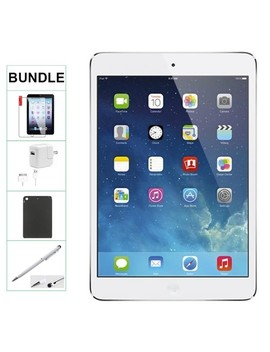Apple Ipad Mini 16 Gb White Wifi Only Refurbished Comes With Case, Stylus Pen, Charger And A 1 Year Warranty by Apple
