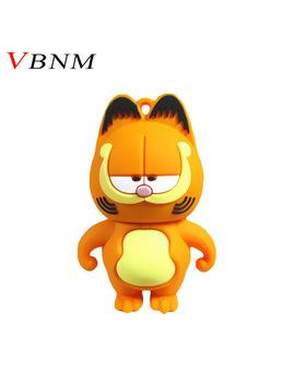Vbnm Lovely Pen Drive Garfield Cat 4 Gb 8 Gb 16 Gb 32 Gb Usb Flash Drive Memory Stick Pendrive Pendriver Mini Gift Free Shipping by Vbnm