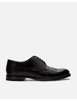 Richelieu Derbies En Cuir by Ted Baker