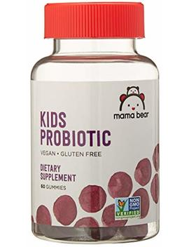 Amazon Brand   Mama Bear Probiotic Gummies, 60 Gummies, 1 Month Supply by Mama Bear