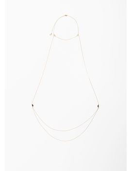 Metal Pendant Body Chain by & Other Stories