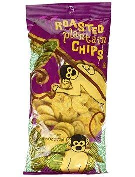 Trader Joe's Roasted Plantain Chips 6oz (Pack Of 6) by Trader Joe's