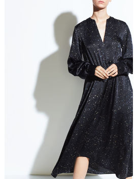 Constellation Print Poet Dress by Vince
