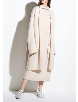 Wool Shawl Collar Cardigan by Vince