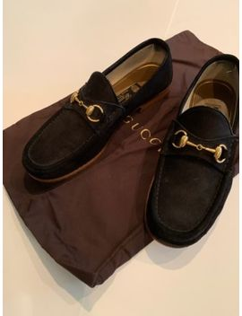 Gucci Mens Shoes 1953 Horsebit Loafer Suede 1953 Collection Us 9 by Gucci