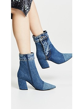 Finite Jn Block Heel Booties by Jeffrey Campbell