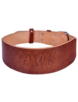 Hawk Leather Weightlifting Belt Bodybuilding Belt Crossfit Weight Lifting Training Belt Powerlifting Gym Belt, Single Piece Of Leather!!!!!! by Hawk
