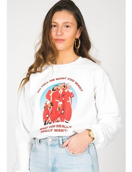 So Tell Me What You Want Graphic Christmas Jumper by M00 D Clothing