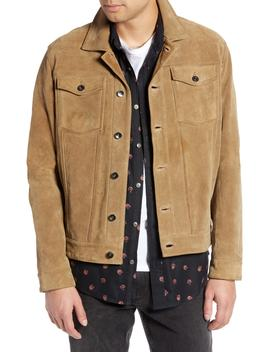 Suede Trucker Jacket by Treasure & Bond