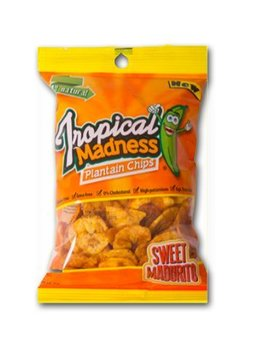 Tropical Madness Snacks Sweet Plantain Chips by Tropical Madness Snacks Inc.
