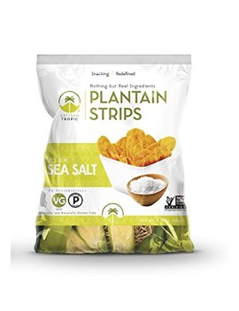 Artisan Tropic Plantain Strips With Sea Salt   Your Tasty And Healthy Snack Alternative   Paleo, Gluten Free, Vegan, Non Gmo   Made With Sustainable Palm Oil 1.75 Oz (16 Pack) by Artisan Tropic