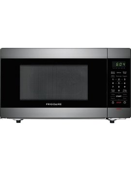 Frigidaire 1.4 Cu. Ft. Black Stainless Steel Microwave Oven by Frigidaire