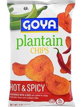 Goya Plantain Chips Hot & Spicy, 5 Oz by Goya
