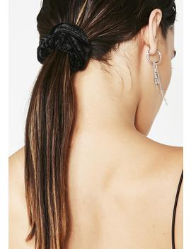 Goth Spirit Velvet Scrunchie by Impulse Fashion Accessories