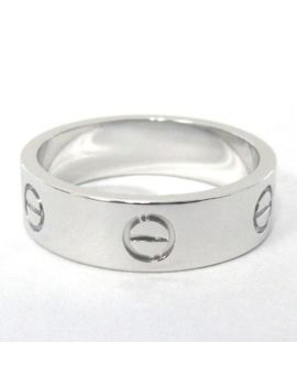 Cartier 18 K White Gold Love Ring 59, Us Size 8.75 $1,770 by Cartier