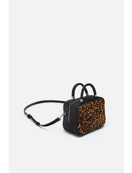 Animal Print Crossbody Bag  New Inwoman by Zara