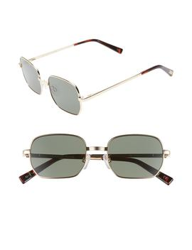 The Flash 52mm Round Sunglasses by Le Specs