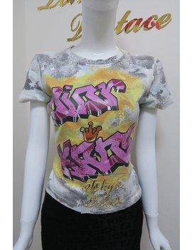 Christian Dior Kaos Grafitti Print T Shirt Spring 2004 Top by Etsy