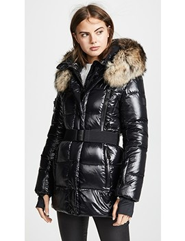 Millennium Long Down Jacket by Sam.