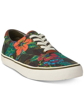 Men's Floral Thompson Sneakers by Polo Ralph Lauren