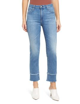 The Isabelle High Waist Straight Leg Jeans by Ag