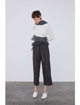 Culottes With Bow  New Inwoman by Zara