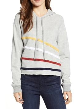 Chenille Stripe Hoodie by Sundry