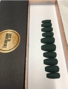 Green Press On Nails/ Any Shape/ Any Size/False Nails/Fake Nails/ Glue On Nails by Etsy