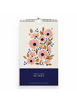 2019 Ebony Snow Art Print Floral Wall Calendar By Snow & Graham by Snow & Graham