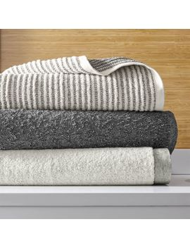 Rowan Bath Towels by Crate&Barrel