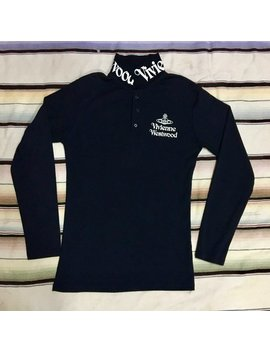 Rear Vivienne Westwood Long Sleeve Polo Vtg 90s by Etsy