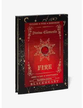 Blackheart Divine Elements Fire Aries Leo Sagittarius Eyeshadow Palette by Hot Topic