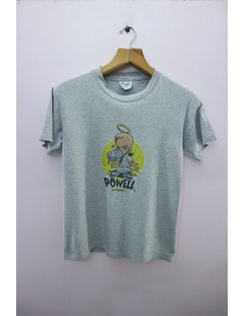Vintage Powell Peralta Shirt Big Logo Skateboards Skater Streetwear Hip Hop Funky Top Tee T Shirt Size S by Etsy