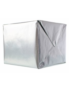 """Metallic Silver Wrapping Paper   30"""" X 300""""   Jumbo Roll   62.5 Sq Ft Per Roll   Professional Gift Wrap Paper   Glossy Foil Like Shine by Etsy"""