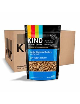 Kind Healthy Grains Granola Clusters, Vanilla Blueberry With Flax Seeds, Gluten Free, 11 Ounce Bags, 3 Count by Kind