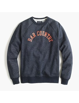 J.Crew Jeans Bar Country Graphic Crewneck Sweatshirt by J.Crew