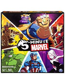 Spin Master Games 5 Minute Marvel Cooperative Card Game For Kids Aged 8 & Up by Spin Master Games