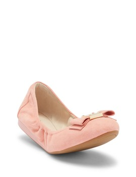 Tali Suede Ballet Flat by Cole Haan