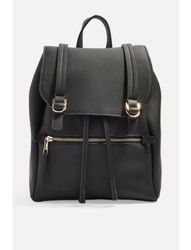 Jen Buckle Backpack by Topshop