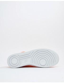 Nike Air Force 1 '07 Sneakers In Orange Bq5360 800 by Nike